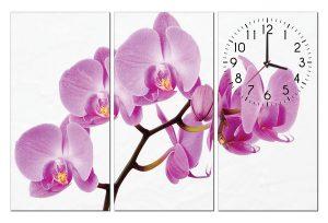 Tranh dong ho hoa lan HL0111