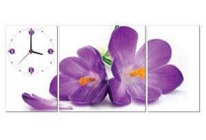 tranh dong ho hoa lan HL0112