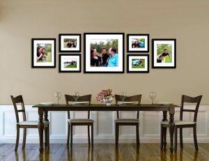 Bộ khung ảnh nghệ thuật treo tường KA0101