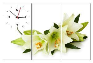 Tranh đồng hồ hoa ly HL0147