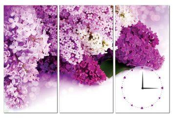 Tranh đồng hồ hoa oải hương HL0130