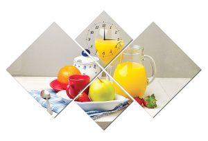 Tranh đồng hồ hoa quả PA0102