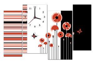 Tranh đồng hồ nghệ thuật NT0101