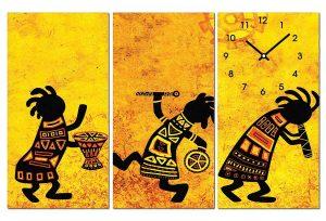 Tranh đồng hồ nghệ thuật NT0102