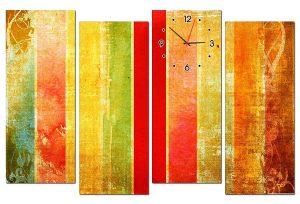 Tranh đồng hồ nghệ thuật NT0119