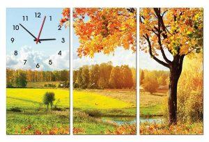 Tranh đồng hồ thiên nhiên TN0130