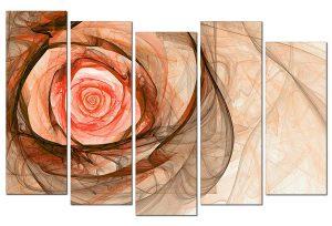 Tranh treo tường hoa hồng nghệ thuật NT0103