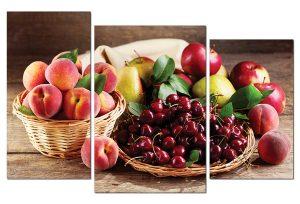 Tranh treo tường phòng ăn hoa quả PA0103