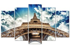 Tranh treo tường tháp Eiffel TN0114