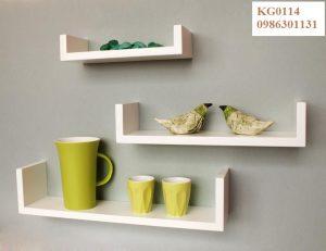 Kệ gỗ trang trí KG0114