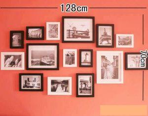KA0106 - 20x26cm (3 khung), 13x18cm (6 khung), 9x13cm (6 khung)