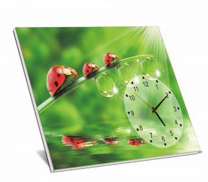 Tranh đồng hồ bộ  để bàn ms05