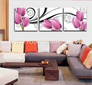 Tranh treo tường hoa tulup HL0188