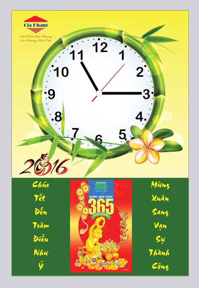 tranh đồng hồ lốc lịch 2