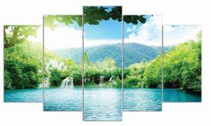 Tranh treo tường hồ nước TN103