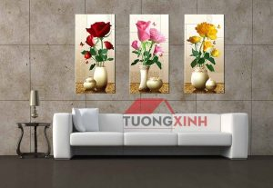 tranh treo tuong hoa hong hl267