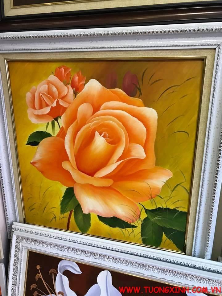 tranh sơn dầu tả thực 1