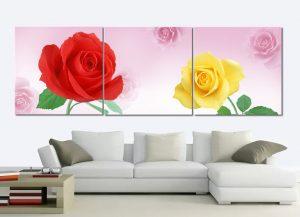 Tranh treo tường hoa hồng HL475