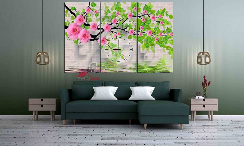 tranh treo tuong hoa la hl1000