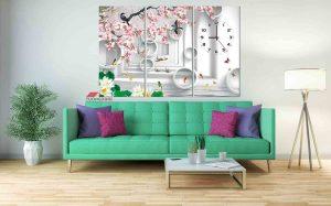 tranh treo tuong hoa la hl1003