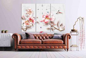 tranh treo tuong hoa la hl1006