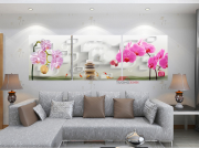 tranh treo tuong hoa lan hl821