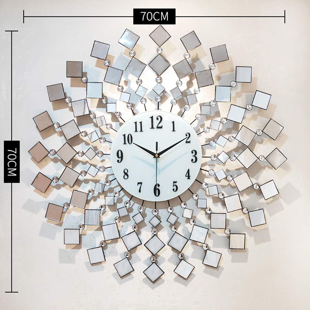 đồng hồ nghệ thuật gương