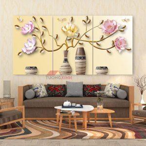 Tranh treo tường Lọ Hoa nghệ thuật HL1078