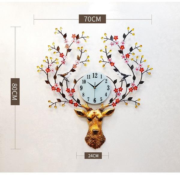 Đồng hồ treo tường Tuần Lộc DHA26