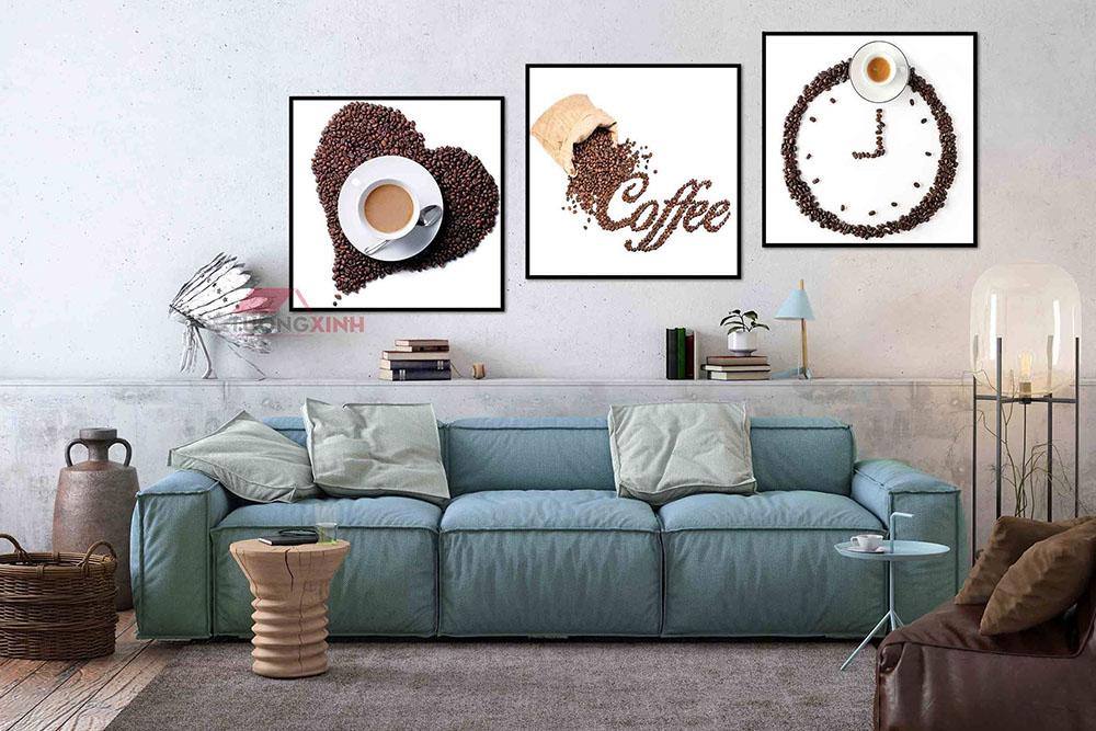 Tranh Cafe treo tường phòng ăn, phòng trà SCA1109